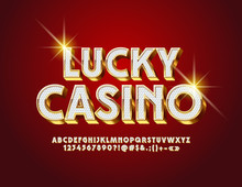 Vector Luxury Logo Lucky Casin...
