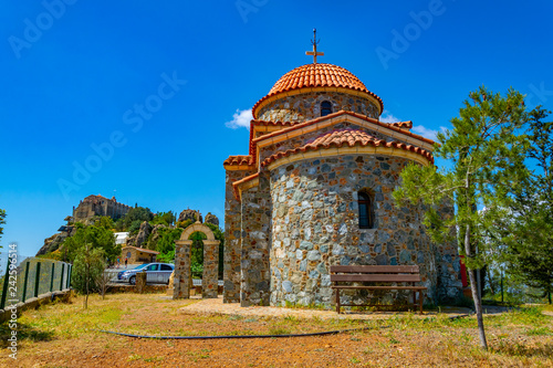 Valokuvatapetti Church of all saints near stavrovouni monastery on cyprus