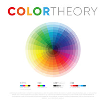 Creative Poster Showing Color ...