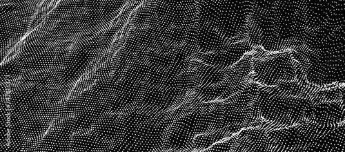 Fotografía Array with Dynamic Particles