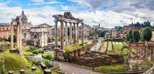 Ruins of Roman Forum Canvas Print