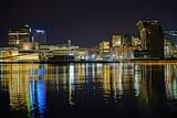 Fototapeta Fototapeta Londyn - Opera Oslo nocą Oslo by night landscape krajobraz