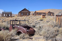 The Ghost Town Of Bodie, An Abandoned Gold Mining Town In California, Is A Landmark Visited By People From All Of The World.
