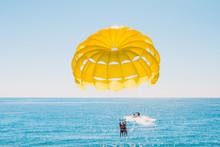 Parasailing - Summer Fun At Sea