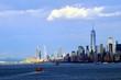 New York City skyline, view from New York Bay