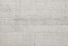 Gray Concrete Wall Blocks Background Texture