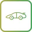 Vector Sports Car Icon