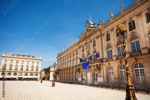 Poster South America Country Townhall of Nancy on Place Stanislas, France