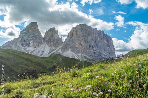 Photo  Dolomites mountains