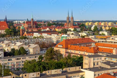 Obraz Miasto Wrocław - fototapety do salonu