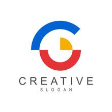 Creative Letter G Logo Design,...