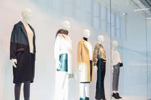 Mannequins In Fashion Shop Dis...