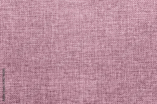 Photo  Burlap background colored in pale pink blend
