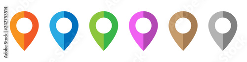 Photo  Map Pin Icons