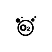 Oxygen Icon Vector. Oxygen Vector Graphic Illustration