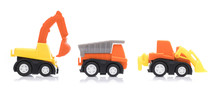 Set Of Toy Garbage Truck With ...
