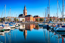 The Historic City Of Dunkirk, The Atlantic Coast Of The Ocean, France