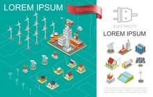 Isometric Electricity Producti...
