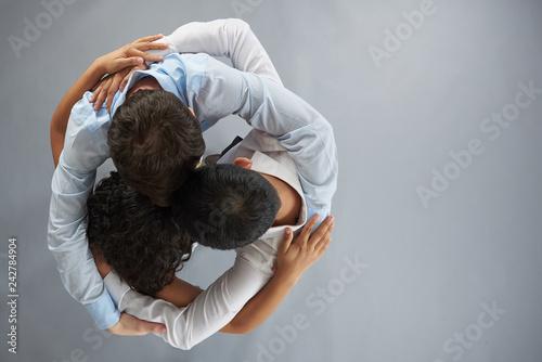 Fotografie, Tablou Unity group hug theme