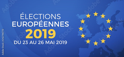Fototapeta Élections européennes 2019 obraz