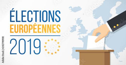Fotomural Élections européennes 2019