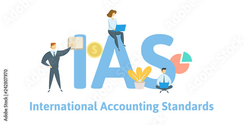 Fotografia, Obraz  IAS, International Accounting Standards
