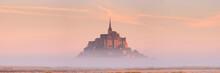 Le Mont Saint Michel In Norman...