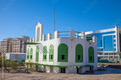 Old city in Jeddah, Saudi Arabia known as