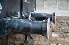 Buffers Of The Steam Locomotive