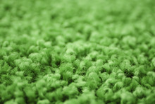 Surface Of Green Carpet