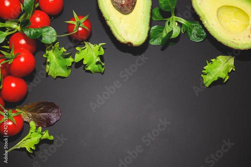 sfondo cibo sano verdura verde