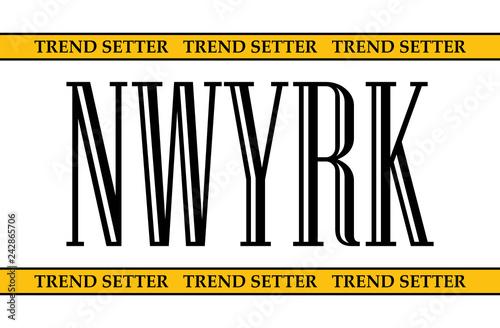 Photo  New york city slogan for t shirt printing, Graphic tee and printed tee