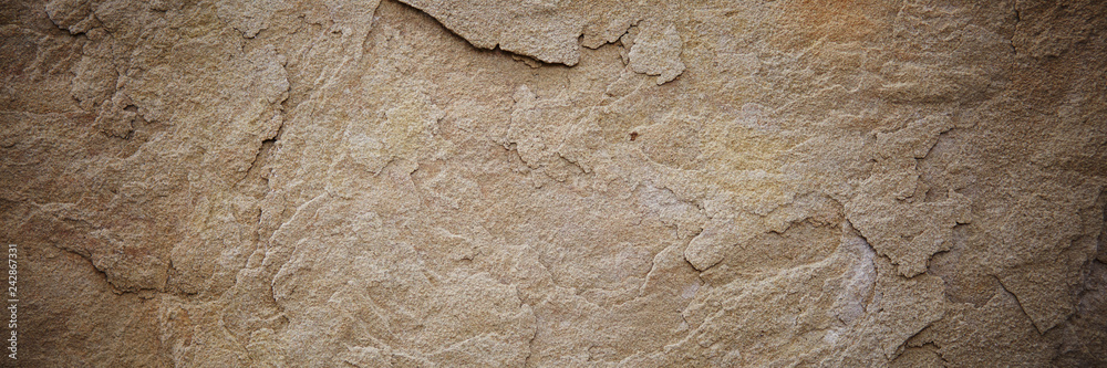Fototapety, obrazy: Textured stone sandstone surface. Close up image
