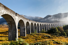 Glenfinnan Viaduct In West Sco...