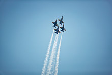 Jet Planes Flying In Formation