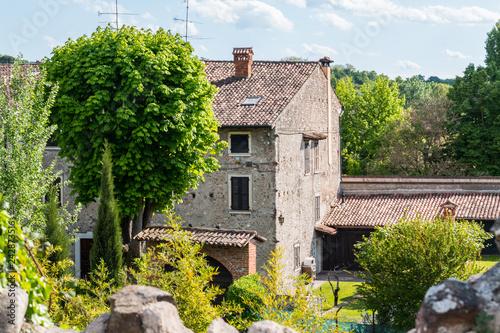 Fotografia  Veduta di Borghetto, Valeggio sul Mincio, Verona, Veneto, Italia