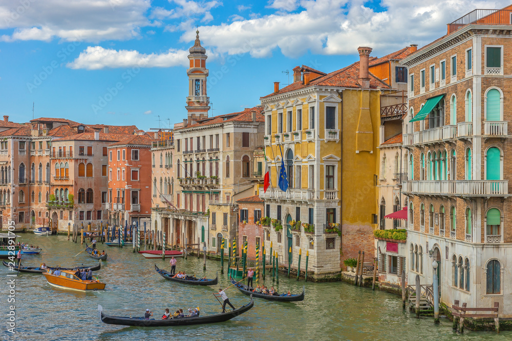 Fototapety, obrazy: Canal Grande, Venice, Italy, Europe