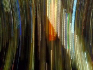 Light Trails Motion Abstract Background