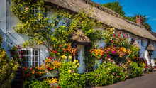 Cute Old English House With A ...