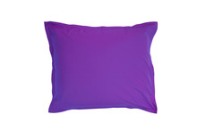 Purple Beanbags Isolated On Wh...