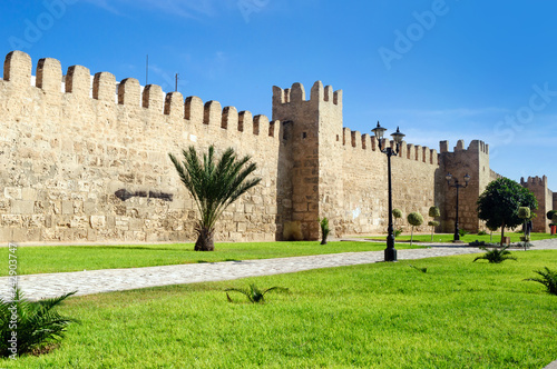 Medina of Sousse is an architectural complex of the medieval part of the city.