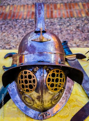Fotografie, Obraz  Cascos de gladiadores