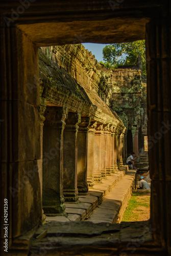 фотография  Ta Phrom temple Angkor wat