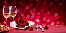 Romantic Dinner - Table Settin...