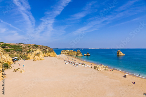 Photo Praia da Dona Ana beach, Lagos, Algarve region, Portugal