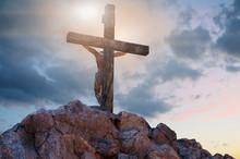 Jesus Christ On The Cross, 3d ...