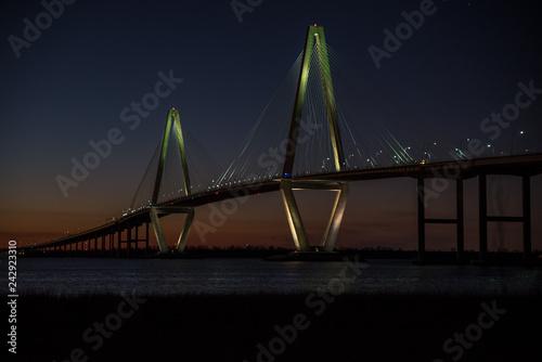 Canvas Prints Bridge Arthur Ravenel Bridge Charleston SC