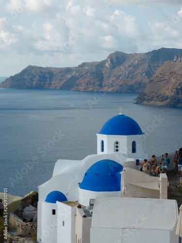 Fototapety, obrazy: Oia, Santorini Greece
