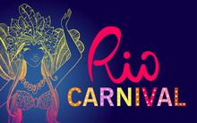 Brazil Carnival, Dancing Girl