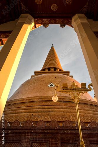 Photo Phra Prathom Jedi, The big Pagoda of Thailand